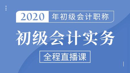 2020年初级会计实务精讲班第十七讲