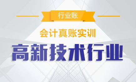 【实操】高新技术软件开发行业真账实训